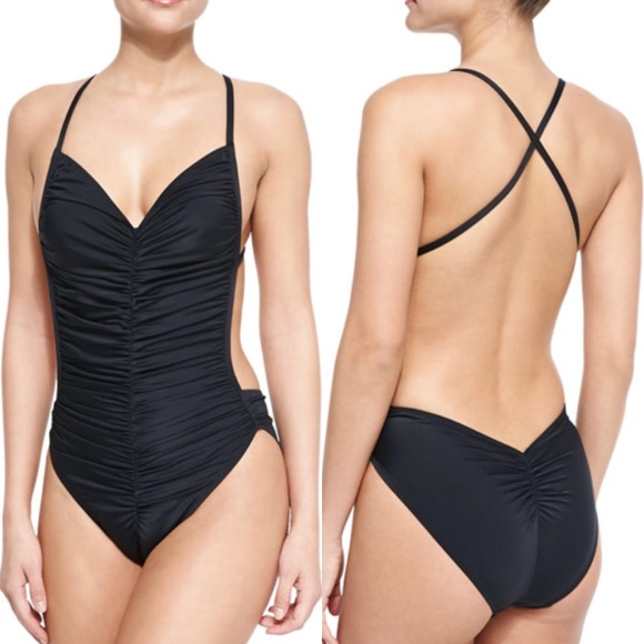 07439a02171ab Norma Kamali Swim | Hp Butterfly Mio One Piece Suit | Poshmark